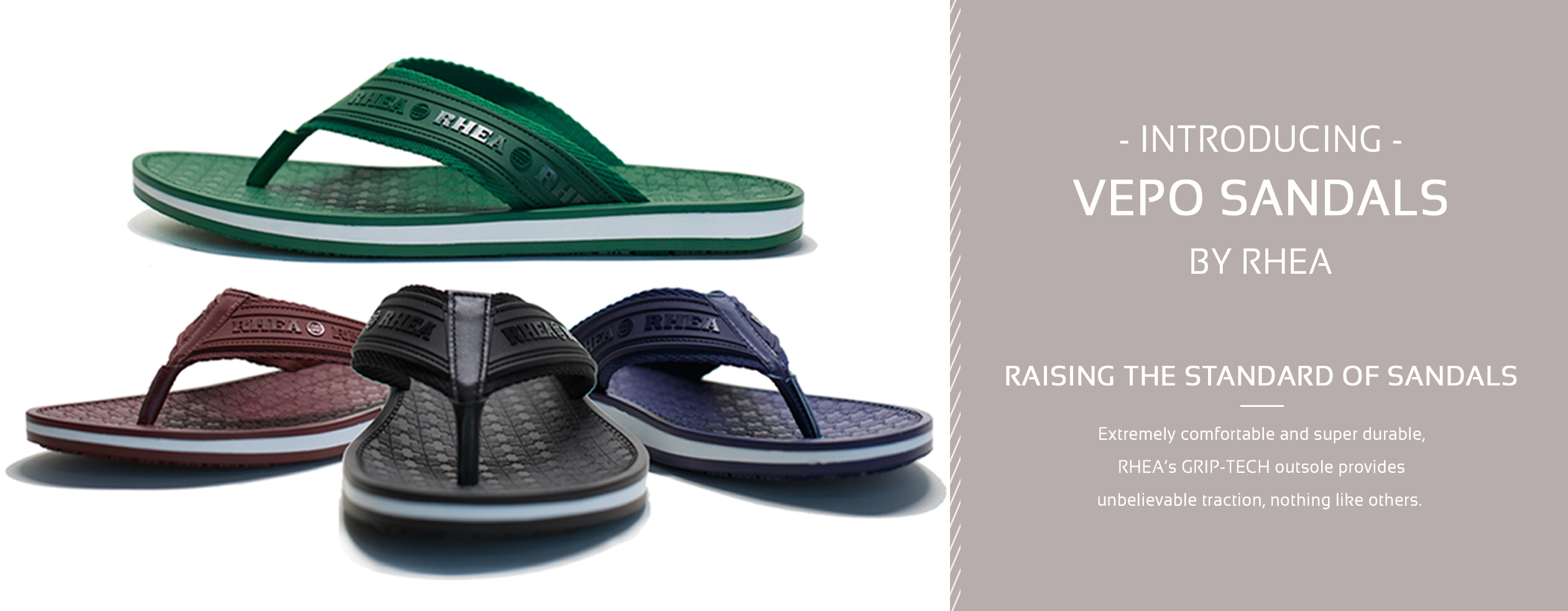 6b3c17ce13808b Men s VEPO Main 04-01-2015. These incredible sandals are also available for  men! Introducing Rhea Footwear Sandals
